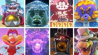 Super Mario Odyssey - All Bosses & Rematches (No Damage)