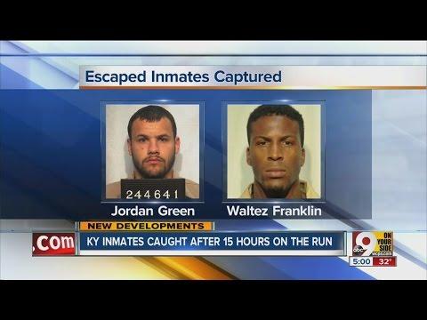 Police capture Kenton County man who escaped from Lexington prison