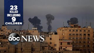 Violence escalates between Palestinians, Israelis in Middle East l ABC News