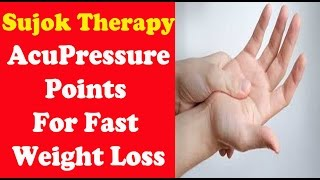 Sujok Therapy For Weight Loss | Acupressure Points For Rapid Weight Loss | Pooja Luthra