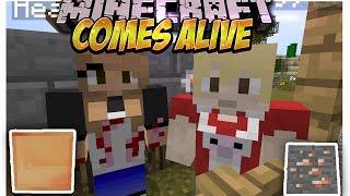 Comes Alive MOD (Ten hijos en minecraft Y Crea una aldea entera) Español Minecraft 1.8/1.7.10/1.7.2