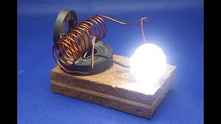 Download free energy  generator  with  light bulb || simple at home 2018 Mp3 and Videos
