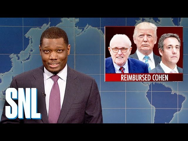 Weekend Update on Rudy Giuliani's Confessions - SNL