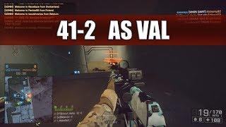 Battlefield 4   PC   Pure Sound Sunday w/ AS VAL on Locker   41-2