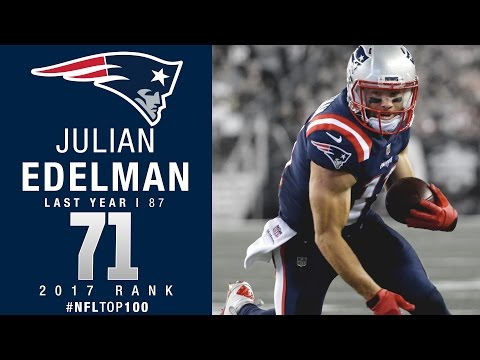 #71: Julian Edelman (WR, Patriots) | Top 100 Players of 2017 | NFL