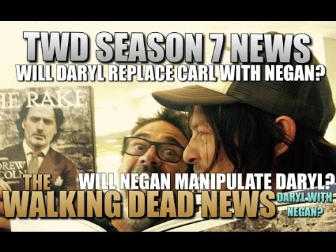 The Walking Dead Season 7 News Will Daryl Replace Carl's Relationship With Negan TWD Season 7
