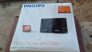 Philips SPA-30 2.0 Multimedia Speaker System Unboxing, Review And Sound Test