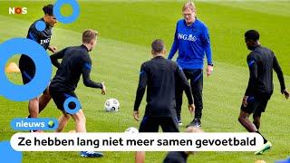 Vanavond komt het Nederlands elftal weer in actie