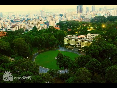 Reunification Palace - former Independent Palace, HCM,