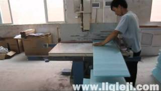 Polyethylene Foam,Honeycomb vertical sawing,vertical cutting,vertical sawing,vertical splitting