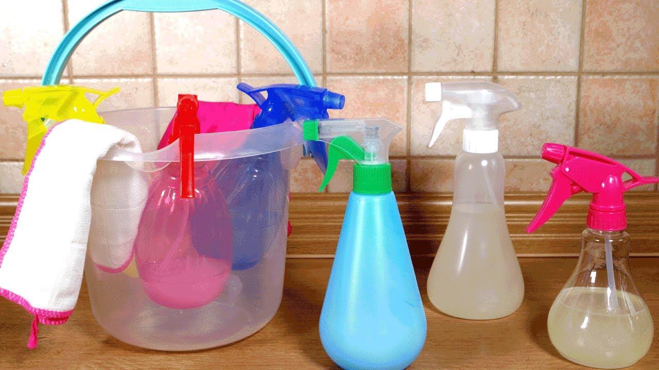 Sprzątaj skutecznie dom własnej roboty płynami i papkami czyszczącymi | Skuteczne, naturalne i tanie