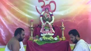 5-Priest Vasanta Bala Tripurasundari Laksha Avarthi Archana and Homa - Day 6
