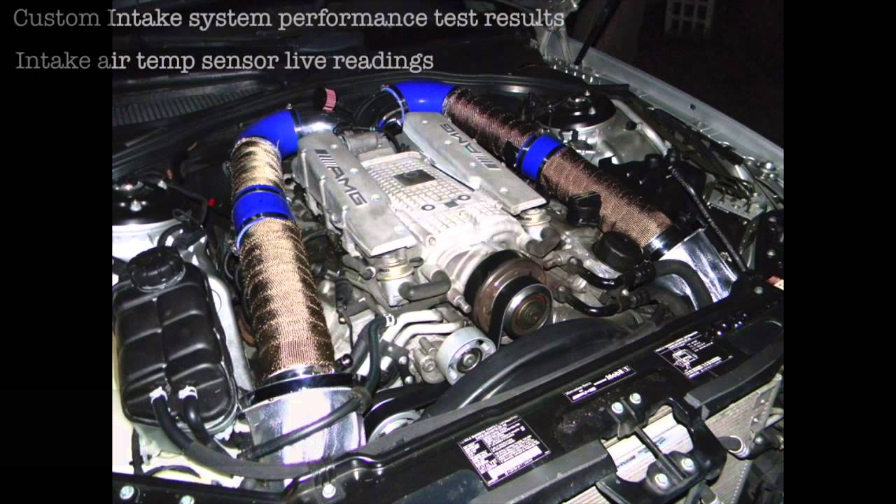 585 Hp Amg Cl55 Insane Supercharger Sound Live Intake