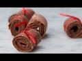 4 Ingredient Kiwi Strawberry Fruit Leathers