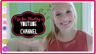Tips for Starting a YouTube Beauty Channel! Telling People at School, Asking my Parents, + More! Thumbnail