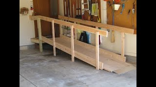 Build Inexpensive Residential Wood Wheelchair Ramps