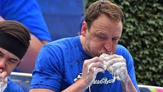 joey chestnut vs kobayashi
