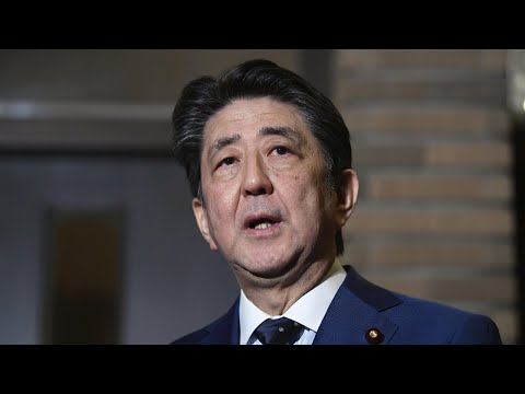 Live: Shinzo Abe holds news presser after declared a state of emergency日本首相安倍晋三召开记者会