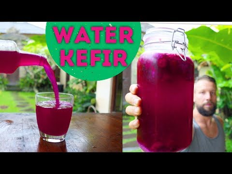 HOW TO MAKE WATER KEFIR THE BEST WAY