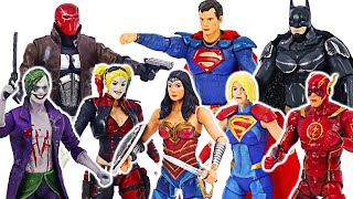 DC Injustice 2 Batman, Superman VS Joker, Harley Quinn battle! | DuDuPopTOY