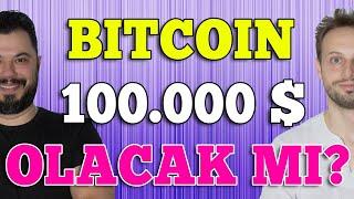 Bitcoin 2021'de 100 Bin Dolar Olacak mı? Altcoin'lere Dikkat!