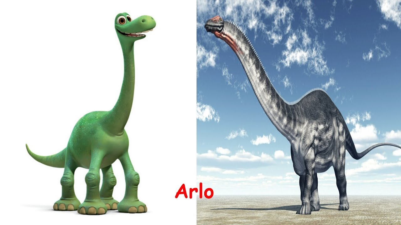 the good dinosaur characters in real life ice age in real life