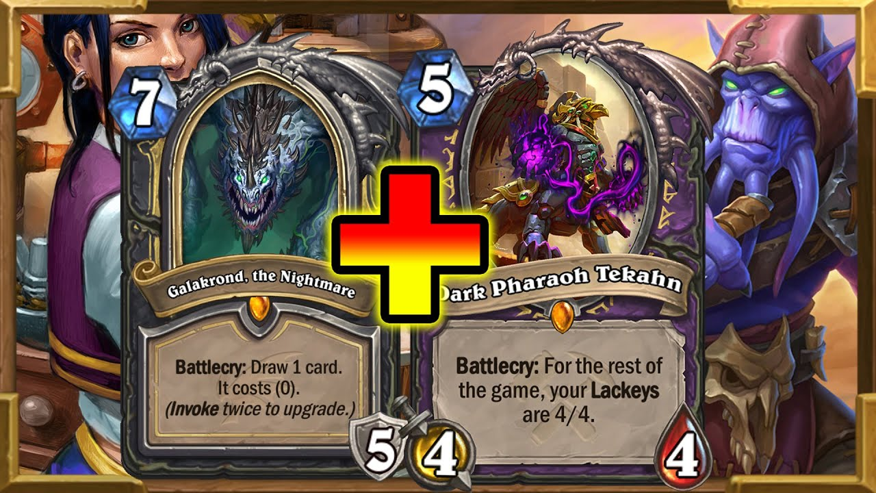 0.001% RNG   Tekahn & Highlander Galakrond Rogue Makes A Disgusting Combo Together   Hearthstone