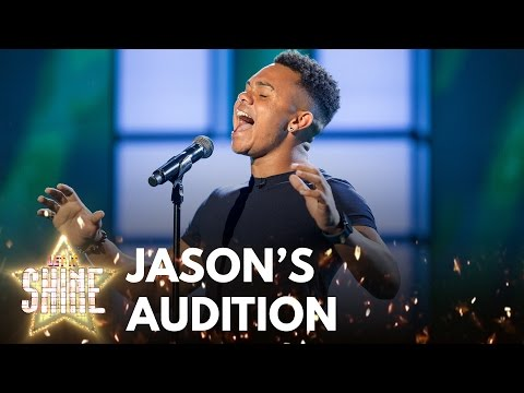 Jason Brock performs Run To You by Whitney Houston - Let It Shine - BBC One