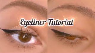 EYELINER Tutorial für ANFÄNGER🦋 meİne Tipps & Tricks /Videozeugs