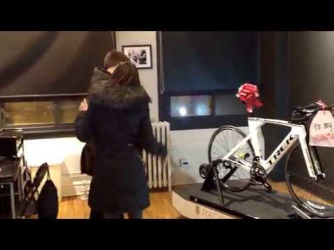 Woman Surprises Her Fiance With New Bike