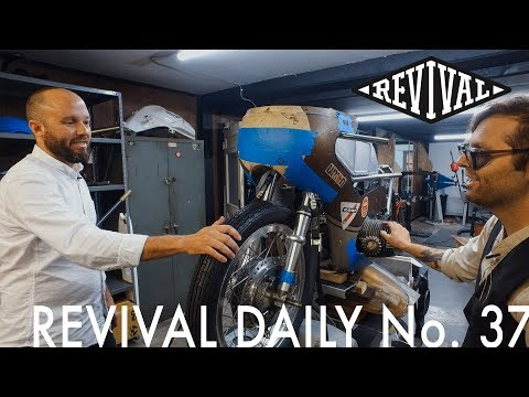 We are making Custom Motorcycle Parts for You! // Revival Daily No. 37