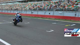 Kevin Schwantz in India for Suzuki Gixxer Cup Finale