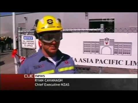 Dross Recycling Plant - Taha Asia Pacific in New Zealand