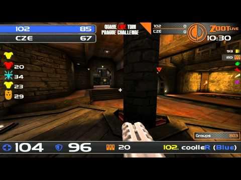 Quake Live TDM Prague Challenge - Group A - 102 vs CZE