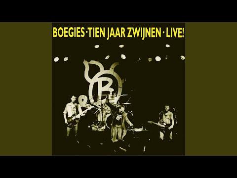 Boegies - Tien Jaar Zwijnen Live!