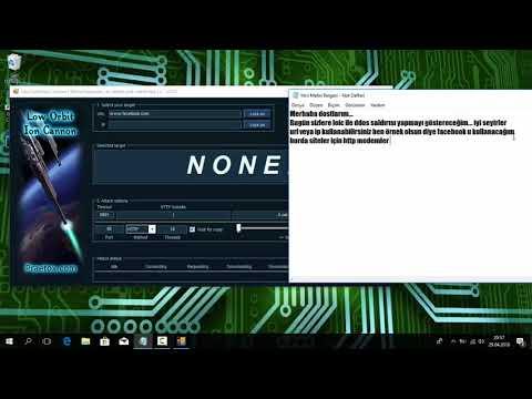 Windows'da LOİC Programı İle DDoS Saldırısı Yapma