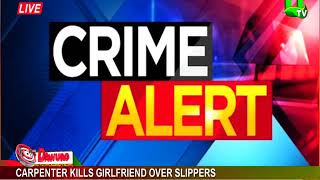 Carpenter Kills Girlfriend Over Slippers