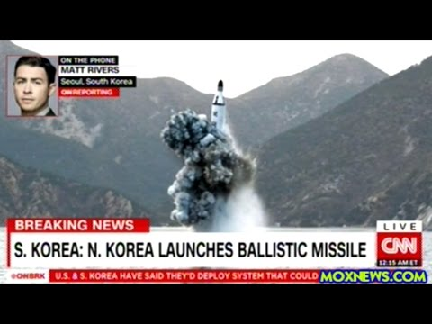 BREAKING! NORTH KOREA LAUNCHES BALLISTIC MISSILE FROM SUBMARINE!