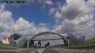 Поездка по маршруту Ярославль - Вологда(Образцово-показательный участок отличной дороги в РФ представлен в этом видеоматериале, отснятом на трасс..., 2016-08-19T12:42:00.000Z)