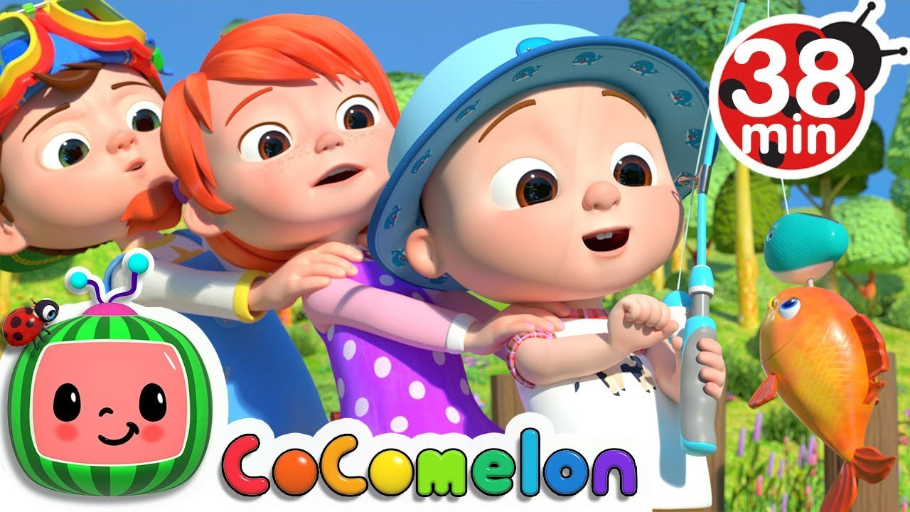 12345 Once I Caught A Fish Alive! 2 + More Nursery Rhymes & Kids Songs - CoCoMelon