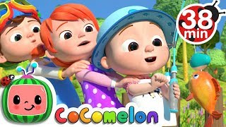 12345 Once I Caught A Fish Alive 2 More Nursery Rhymes Kids Songs CoCoMelon