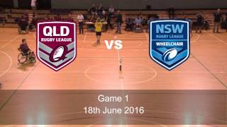 2016 Lendlease Wheelchair Rugby League Interstate Challenge - Game 1