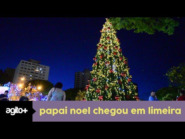 Papai Noel chegou a cidade de Limeira