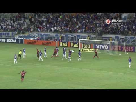 Melhores Momentos – Gols de Cruzeiro 0 x 1 Flamengo – Campeonato Brasileiro 15 06 2016