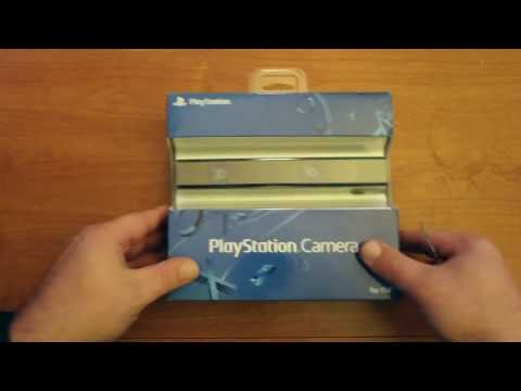 Playstation 4 Camera Unboxing (PS4 Camera) Playstation Eye Camera Unboxing