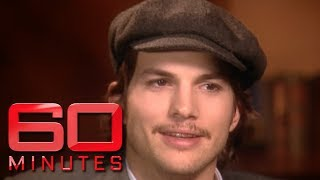 Young, rising star Ashton Kutcher on 'love of his life' Demi Moore | 60 Minutes Australia