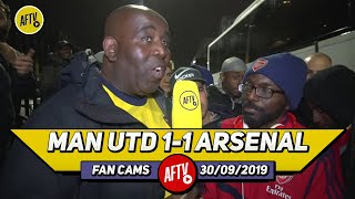 Man United 1-1 Arsenal | United Are Garbage! We Should Have Won! (Ty)