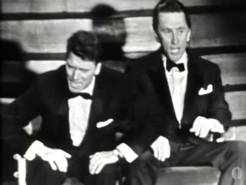 Kirk Douglas and Burt Lancaster: 1958 Oscars