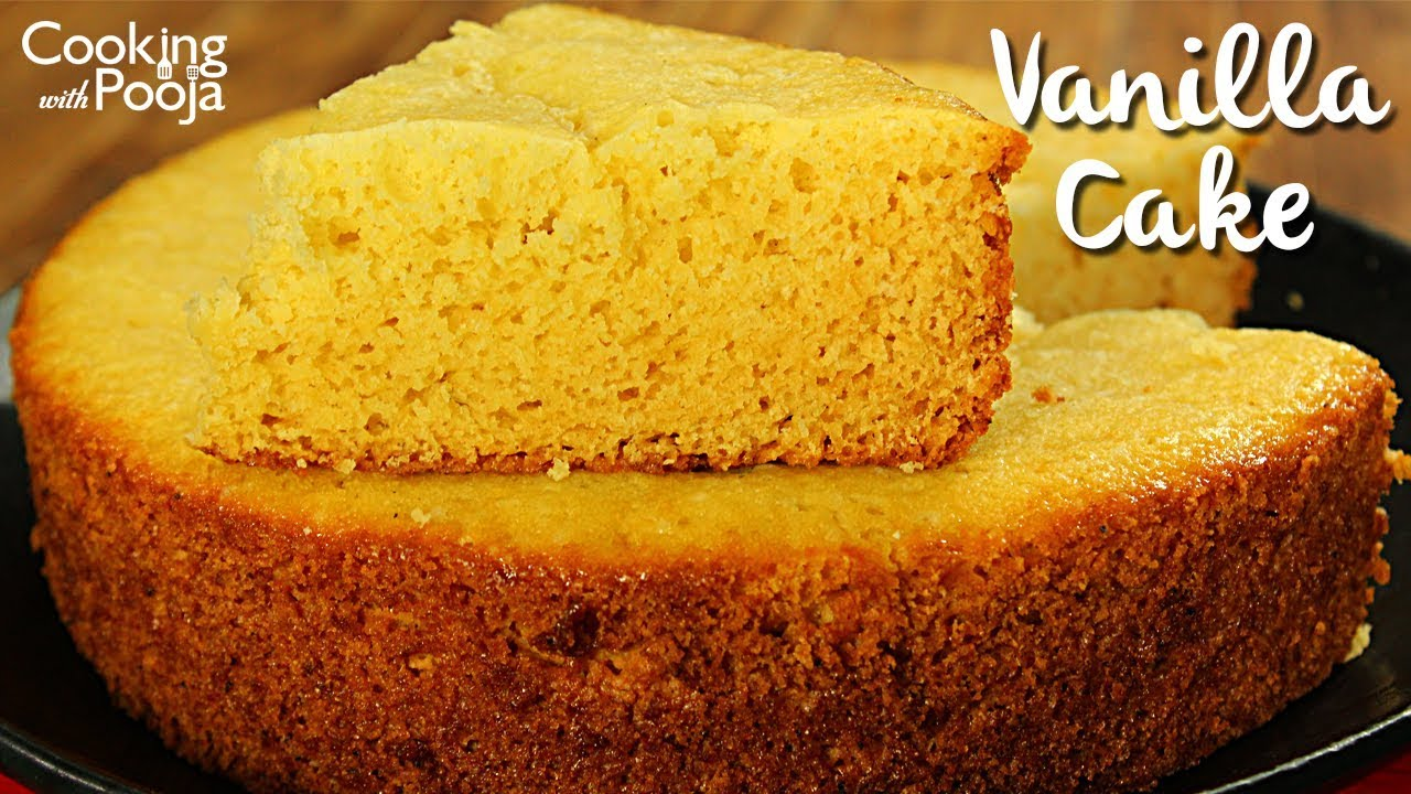 Cake Recipe Light And Fluffy: Vanilla Cake In Pressure Cooker