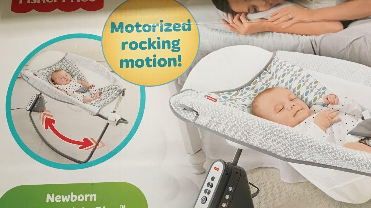 Fisher Price Newborn Auto Rock N Play Sleeper Youtube